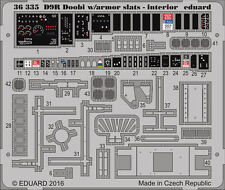 EDUARD 1/35 PHOTO-ETCHED INTERIOR DETAIL SET for MENG D9R DOOBI with SLAT ARMOUR