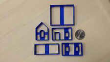 Mini Gingerbread House Cookie Cutter (Small size multiple pieces)