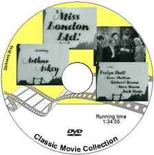 Miss London Ltd - Arthur Askey, Evelyn Dall Comedy Musical 1943 DVD