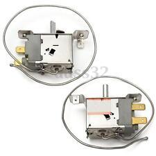AC 220-250V WPF22A 2 Terminal Refrigerator Refrigeration Thermostat 30cm Cord