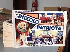 GLI ALBI DELL'INTREPIDO (Anteguerra) - 1/150 COMPLETA - Piacentini Anastatica