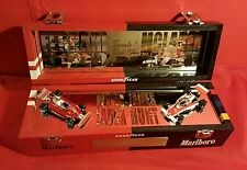 Niki Lauda James Hunt Rush Box  F1 Champion 1976 Unikat + Ferrari McLaren 1:43