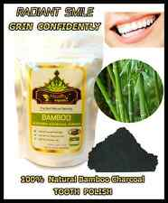 Premium Activated Bamboo Charcoal Powder for TEETH WHITENING, TOOTHPASTE ; 100 g