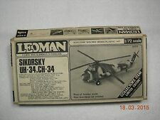 SIKORSKY UH-34, CH-34 MODEL KIT LIMITED COLLECTOR'S EDITION - BY LEOMAN