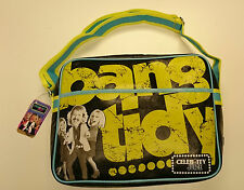 VITAMIN T / Celebrity Juice / BANG ordinato / Messenger Bag / Nero / Scuola Borsa - 540