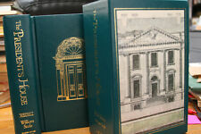 The President's House by William Seale 2-Volume Book Set in Slipcase NEAR MINT!