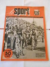 LO SPORT n.2 del 17 - maggio -1951 - MAGNI e COPPI al giro di romagna