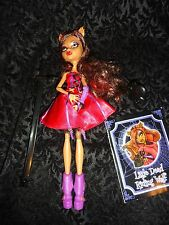 Monster High Clawdeen Scarily Ever After Little Dead Riding Wolf Doll