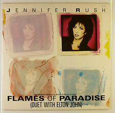 "12"" Maxi - Jennifer Rush - Flames Of Paradise - B2488 - washed & cleaned"