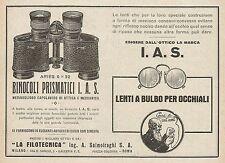 Z0175 La Filotecnica Ing. Salmoiraghi - Binocolo Ariès - Pubblicità del 1928