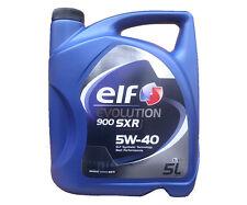 5 Liter 5W-40 ELF EVOLUTION 900 SXR 5W40 RENAULT Motoröl RN0700 RN0710 A3 / B4