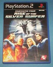 FANTASTIC FOUR 4 RISE OF THE SILVER SURFER UK PS2 PLAYSTATION 2 GAME - FREE P&P