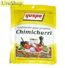 F15 CHIMICHURRI YUSPE 50g FAMOUS CONDIMENT FOR BBQ!