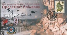 Bosnia & Gulf War Britiash Army General signed Operation Colussus cover