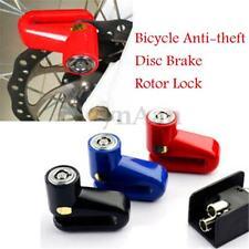 Motorcycle Motorbike Scooter Bike Bicycle Security PadLock Brake Disc Lock 2-Key