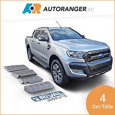 Unterfahrschutz Set aus 4 Teilen — Aluminium 6mm — Ford Ranger / Mazda BT-50