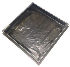 600 x 600 x 80mm GrassTop Recessed Drain Cover for Grass / Turf Filling