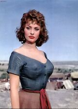 SOPHIA LOREN  SUPERSTAR    8X10 PHOTO