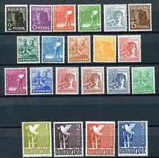 GERMANY 1946-48 ALLIED OCCUPATION GENERAL ISSUES COMPLETE COLLECTION PERFECT MNH