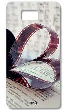 CUSTODIA COVER CASE MUSICA RULLINO CUORE FOTO PER SAMSUNG GALAXY ALPHA SM-G850F
