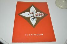 LOUIS VUITTON LE CATALOGUE 1999 CATALOG ULTRA RARE COLLECTOR ITEM EXC CONDITION