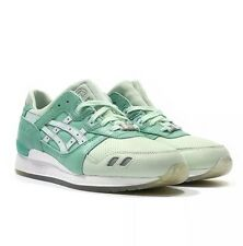 Asics X Highs and Lows Gel Lyte 3 III Silver Screen size 10.5 Pale Aqua DS