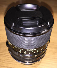 Tamron 09A 35-70mm F/3.5-4.5 Macro Zoom lens, Adaptall II with Nikon AI Mount