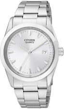 Citizen Mens BK1410-57B Stainless Steel Quartz Watch with a Date Function.