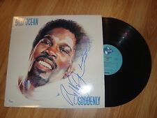 RARE Billy Ocean AUTOGRAPHED Signed Vinyl LP Record Suddenly  JSA CARIBEAN QUEEN