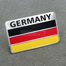 Rear Emblems Badge Sticker Decal Germany Land Flag Powered By Germany