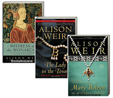 Alison Weir Set (pb) Mary Boleyn,Lady in the Tower & Mistress of the Monarcy NEW