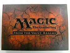 From the vault realms! OVP! inglese Magic MTG