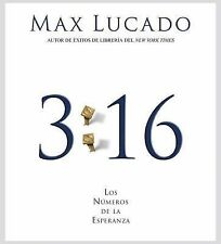 (New CD) 3:16 Los Numeros de la Esperanza by Max Lucado (3 CDs / 3 hours)