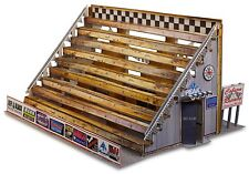 "BK 4302 1:43 Scale ""Bleacher Kit & Hot Dog Stand"" Photo Real Scale Building Kit"