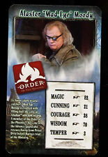 "Alastor ""Mad-Eye"" Moody Harry Potter - Order Of The Phoenix Top Trumps Card #C4"