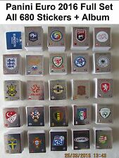 Complet jeu complet/collection de panini euro 2016 football 680 stickers + album