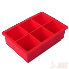 Big Square Block Non-Stick Novelty Silicone Jell-O Chocolate Mold Ice Cube Tray