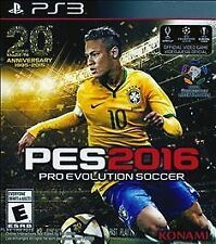 Pro Evolution Soccer 2016 for PS3 Pro Evo Soccer PES 2016 Brand New