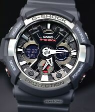 CASIO G-SHOCK MENS WATCH GA-200-1A FREE EXPRESS BLACK GA-200-1ADR ANALOG DIGITAL