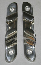 "Stainless Steel 4-1/2"" Skene Bow Chocks (pair)"