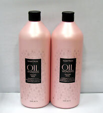 Matrix Oil Wonders Volume Rose Shampoo Conditioner 33.8 oz Liter Set Fine Hair