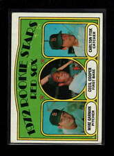 1972 TOPPS #79 CARLTON FISK/CECIL COOPER ROOKIE RC EX D2264