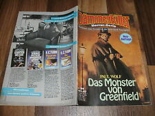 Paul Wolf -- DÄMONENKILLER  #  55 / das MONSTER von GREENFIELD /  Dorian Hunter