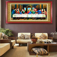 """"""" The Last Supper """" DIY Diamond Embroidery Painting Cross Home Decor Art Craft"""
