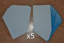 5x7 Photo Paper Glossy w/ Envelopes 5 Packs of 10 Card/Envelope set (Card Kit)