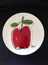 "Mikasa 12-1/2"" Chop Plate Apple by Vera Pattern F7102"