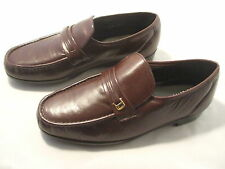 New in Box Florsheim Burgundy Men's Riva Slip-On Loafer Shoes Size 8 EEE