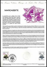 """FRANCE  """"Historical Collection Of French Postage Stamps""""  Marcassite. 1986"""