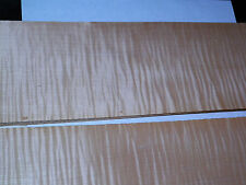 Curly Maple raw wood veneer, 4.5 x 51 inches. 1/42nd thick                4494-8