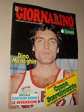 IL GIORNALINO=1980/38=DINO MENEGHIN COVER + POSTER=ALESSANDRA PANELLI=INSERTO=